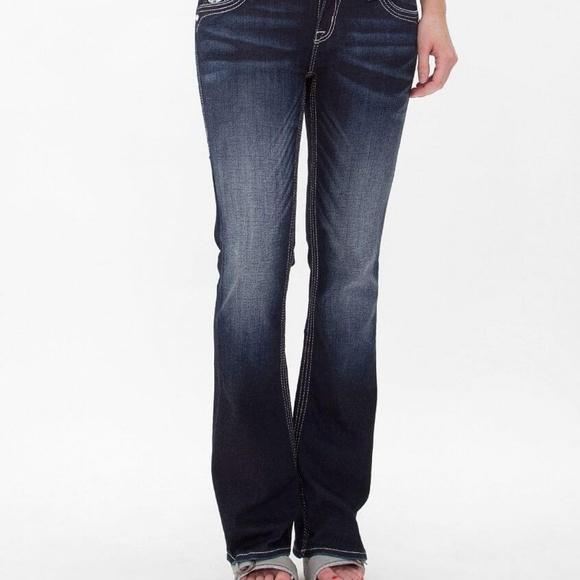 Rock Revival Denim - Rock Revival Iselin Easy Ankle Skinny Jeans